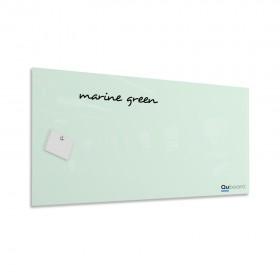 Marine green magnetic glassboard LABORO
