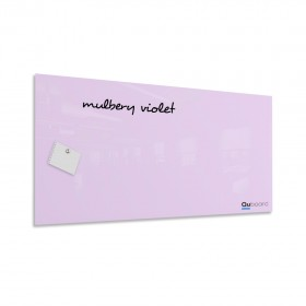 Mulbery violet magnetic glassboard LABORO