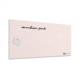Vermilion pink magnetic glassboard LABŌRŌ